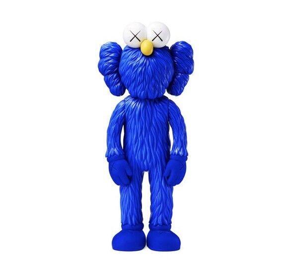 KAWS Bff Azul Edición MoMA exclusivo En Mano