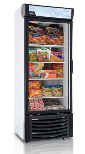 TORREY 1 ONE DOOR GLASS DISPLAY FREEZER 120 VOLT FOR FROZEN FOOD LED LIGHTING
