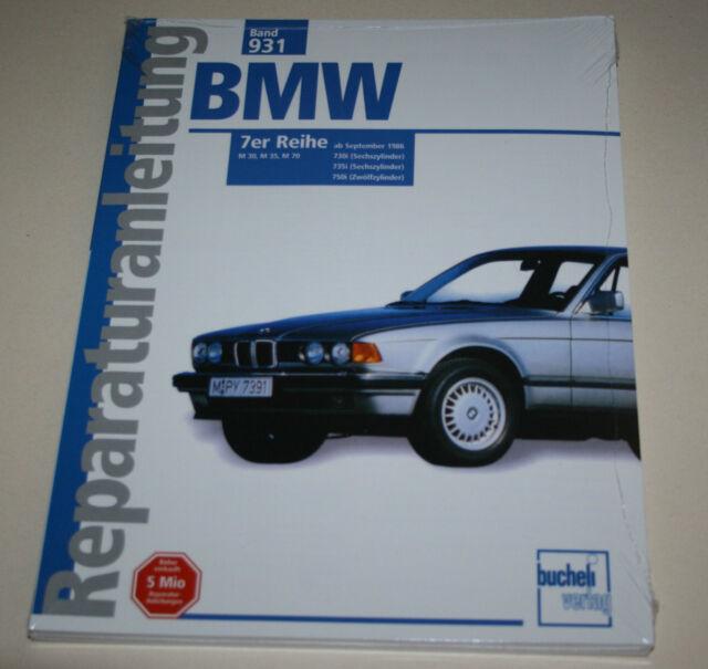 Repair Manual BMW 7er E32 730 I/735 I/750 I from Year 1986