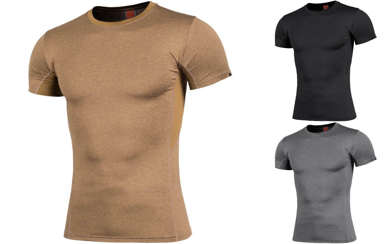 PENTAGON Jersey-T-Shirt Mann Rundhalsausschnitt angepasst sport Slim fit APOLLO