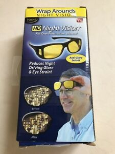 97fc0524994a Image is loading HD-Night-Vision-Wraparound-Sunglasses-As-Seen-on-