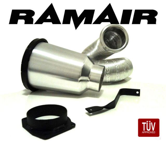 RAMAIR Kalt Luftfilter Induktions Satz Golf 3 1.6 101BHP Lebenslange Garantie