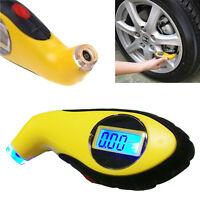 LCD Digital Car Motorcycle Tire Tyre Air Pressure Gauge Tester Tool Auto Nice UK
