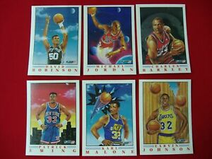 1991-92-FLEER-BASKETBALL-PROVISION-6-CARD-INSERT-SET-MICHAEL-JORDAN-LAST-DANCE