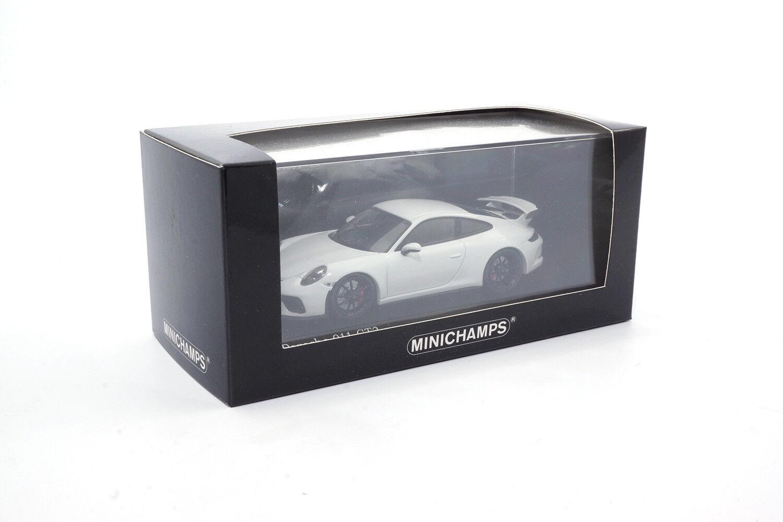 410066025 Minichamps Porsche 911 gt3  - 2017-blanc - 1 43  vente discount en ligne