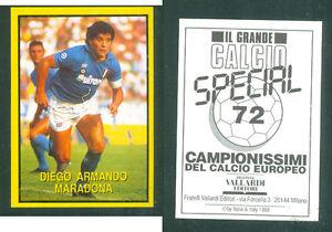 MARADONA-NAPOLI-RARA-EDIZIONE-ITALIANA-1988-CALCIO-NUOVO-GRANDE-CALCIO-N-72