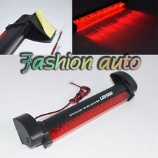 12V Universal Vehicle Red 24 LED Third Light Bar Tail Stop Brake Lamp Bulb
