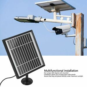 Solar Panel Output 5V 1A Solar Panel For Outdoor Camera Security Camera Solar