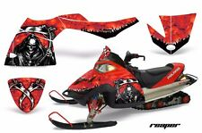 AMR Racing Sled Wrap Polaris Fusion Snowmobile Graphics Kit 2005-2007 REAPER RED