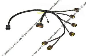 wiring specialties coil pack harness loom r33 gtst gts skyline rh ebay co uk wiring specialties rb25det install 240SX Wiring