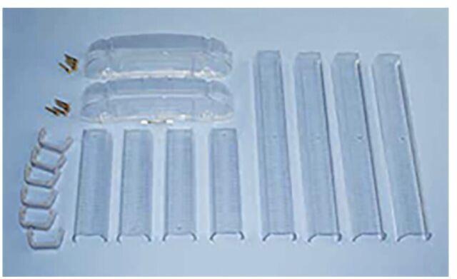 Whelen CLEAR Short Light Bar Lenses for Liberty Patriot LFL Lightbars