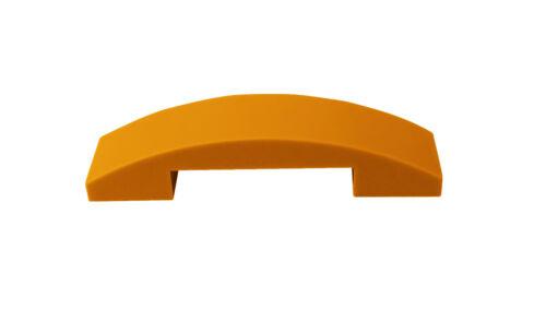 Lego 10 Stück Dachsteine orange 4x1 doppelt gebogen 93273 Dachstein Basics Neu