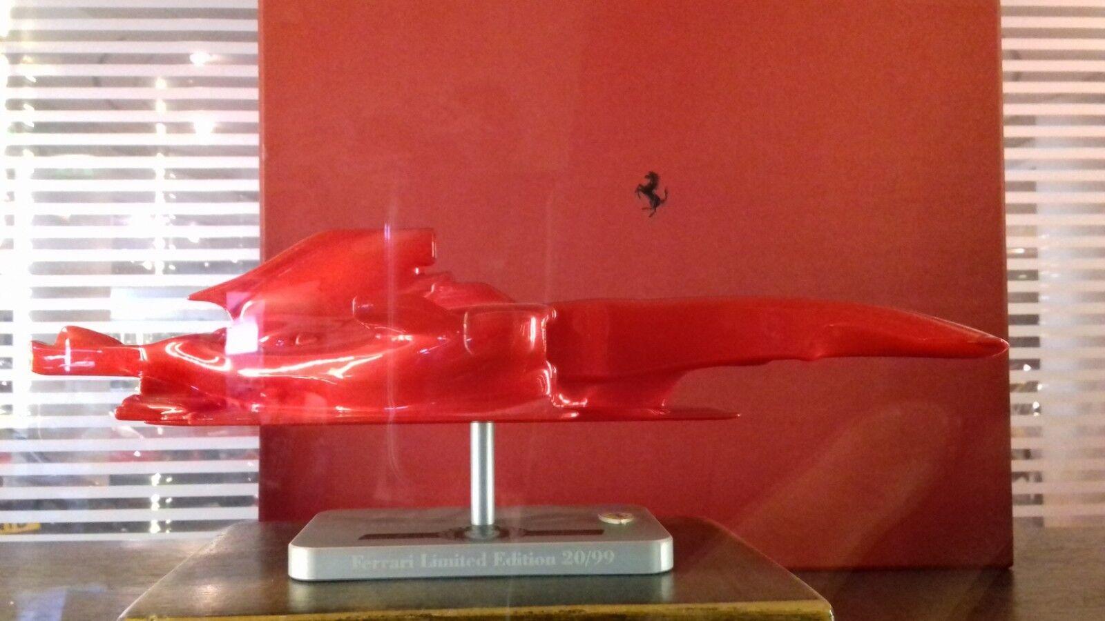 OFFICIAL FERRARI F1 F1 F1 2008 1 12 SILHOUETTE ART PIECE LIMITED EDITION 100pcs F2008 5ebe46