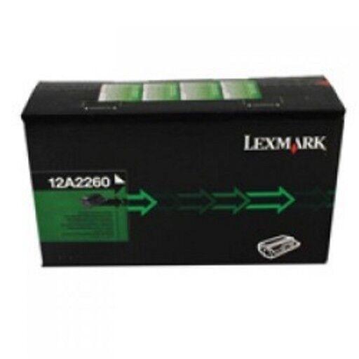 Lexmark Toner schwarz 12A2260 E320 E322 Hohe Kapazität ca. 6000 Seiten ----- OVP