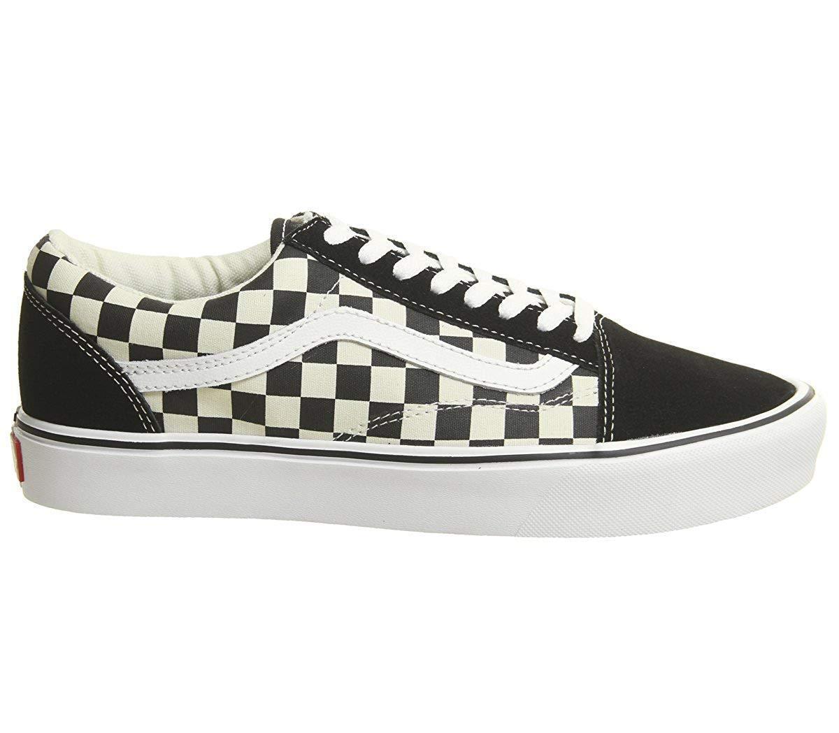 Vans Old Skool Lite (Checkerboard) Black White (VN0A275W5GX)