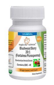 Blushwood Berry 20:1 Extract Capsules Fontainea picrosperma EBC