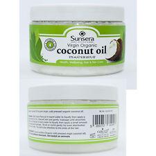 Sunsera 100% Organic Raw Pure Extra Virgin Coconut Oil Hair & Skin Care 275 ml