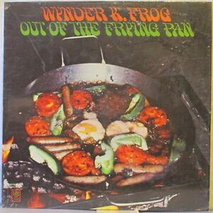 WYNDER K. FROG Out of the Frying Pan LP Hammond B-3 Rock/Jazz/Funk – In Shrink