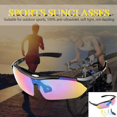 Polarized Sports Torege Sunglasses With 5 Interchangeable lenses for Men/&Women