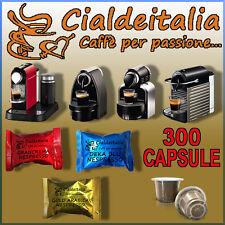 300 capsule Caffe' Cialdeitalia compatibili NESPRESSO MISTE a SCELTA