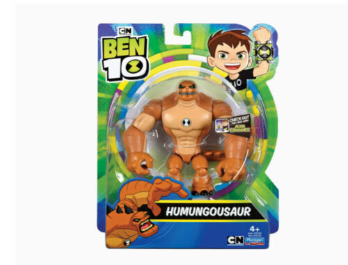 Humungousaur is Ben 10 ten action figure nuova serie