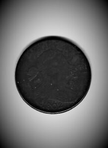 REDUCED!!!   NICE, NICE FINE++STEMLESS 1802 DRAPED BUST LARGE CENT     #1075