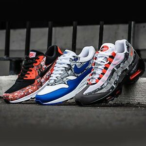 d4dcd6a190 Atmos X Nike Air Max 1 / 90 / 95 Print We Love Nike Pack Limited ...