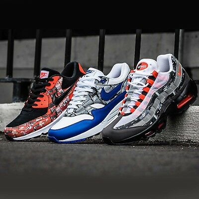 Atmos X Nike Air Max 1 90 95 Print We Love Nike Pack Limited Sneakers Pick 1 | eBay