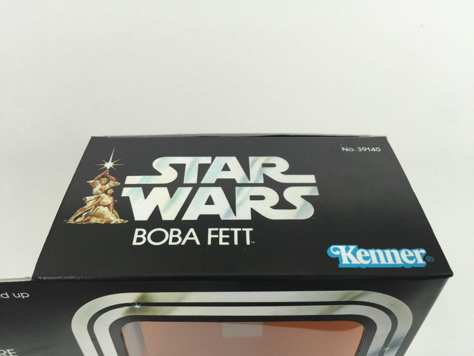 Replacement vintage star wars wars wars 12  Boba fett box + inserts c3885e