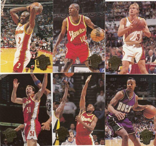 1994-95 Fleer Ultra NBA Basketball Card Series1 Complete base card Set(200)-MINT