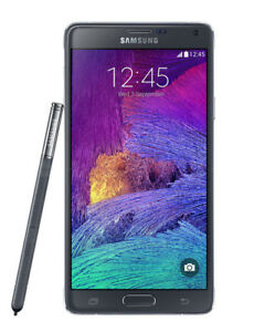 Samsung-Galaxy-Note-4-SM-N910T-Unlocked-T-Mobile-32GB-5-7-Zoll-Schwarz-Weiss