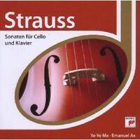 YO-YO MA - STRAUSS - ESPRIT/SONATEN F.CELLO+KLAVIER  CD NEU