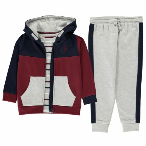 SoulCal Kids Childrens 2 Piece Long Sleeve Hoody Joggers Tracksuit Sports Set