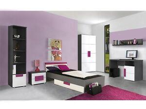 Das Bild Wird Geladen Jugendzimmer Libelle 7tlg Kinderzimmer Komplett  Set Jugendmoebel 110508