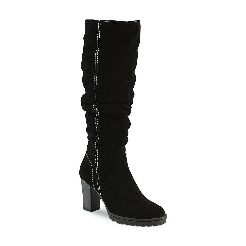New Womens Canyon River Blues Mira Slouched Boot Style 22037 Black 82M rr