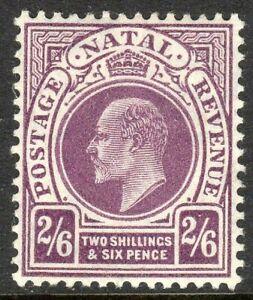 South-Africa-Natal-1904-purple-2-6d-multi-crown-CA-mint-SG157