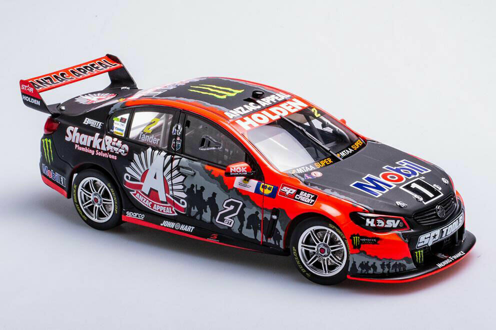 1 18 Biante - 2016 Holden VF Commodore - HRT - Anzac Appeal Livery - Tander