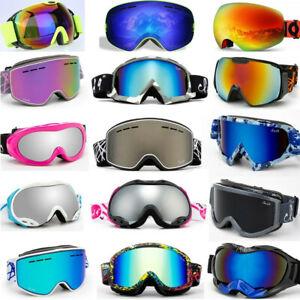 Winter-Snow-Sports-Goggles-Ski-Snowboard-Snowmobile-Face-Mask-Eyewear-Sunglasses