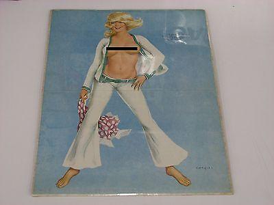 Vargas girl Pinup Blonde poster Calendar page