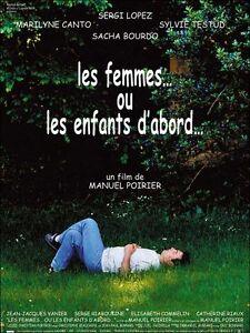 Affiche-40x60cm-LES-FEMMES-OU-LES-ENFANTS-D-039-ABORD-2001-Sergi-Lopez-EC