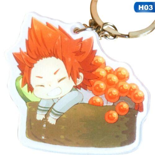 Anime My Hero Academia Keychain Acrylic Key Chain Keyring Accessorie