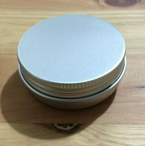 ROUND SURVIVAL TIN Small Round Pot Storage Bit Box Fishing Tackle Tinder Fatwood