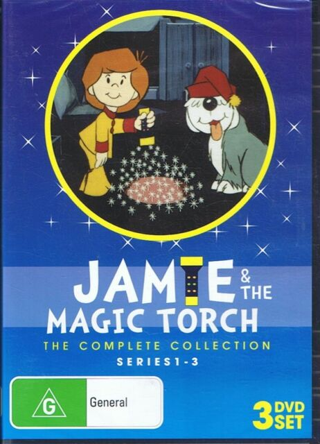 JAMIE & The Magic Torch Complete Collection Series 1-3 (3x DVD Set) NEW & SEALED