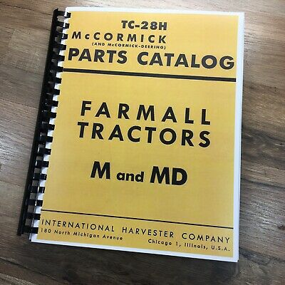 Details about  /FARMALL INTERNATIONAL M MD TRACTOR PARTS MANUAL CATALOG BOOK SCHEMATIC ASSEMBLY