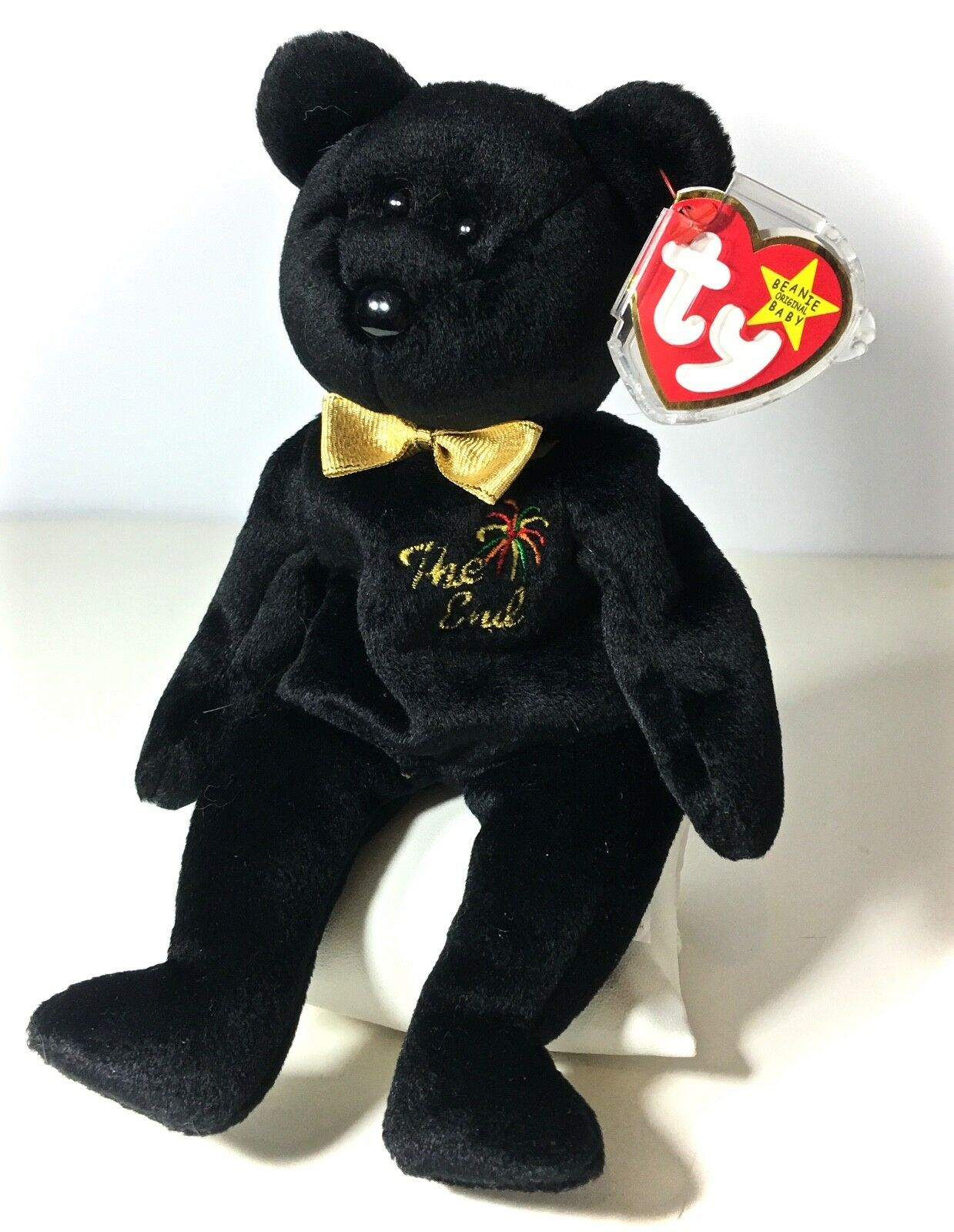 TY TY TY Beanie Baby  GiGi  Poodle Mint Condition With Errors  Rare Collectable 1999 c6763a