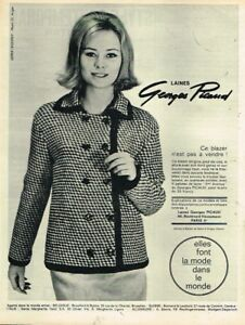 L-Publicite-Advertising-1963-Pret-a-porter-vetement-Laines-Georges-Picaud