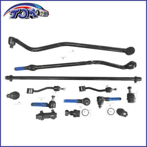 NEW-13PCS-TIE-ROD-DRAG-LINK-TRACK-BALL-JOINT-SWAY-BAR-KIT-FITS-JEEP-WRANGLER