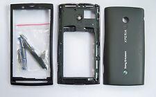 Black Housing Case Cover fascia facia faceplate For Sony Ericsson X10 Xperia
