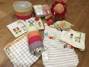 mamas and papas Jamboree Nursery Set