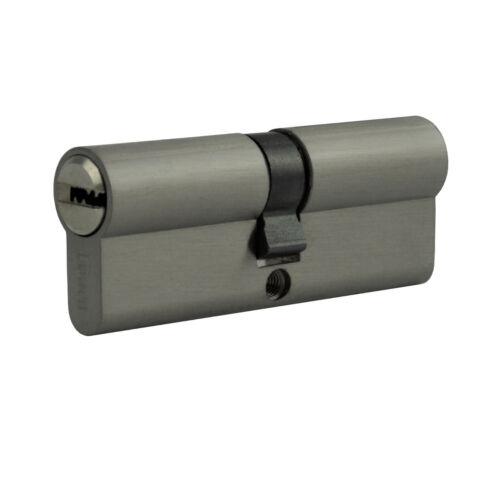 Gefahr 40 Schlüssel gleichschließend Schloss 8x Profil Zylinder 90mm 45//45 Not
